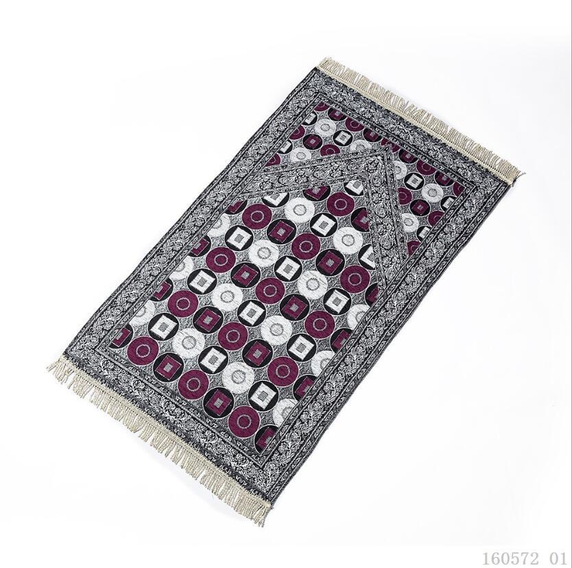 Image 2 - Islam Muslim Prayer Rug for Living Room Chenille Prayer Blanket  Moroccan Persian Rug Floor Outdoor Mat Bedroom Wood Floor CarpetIslamic  Clothing