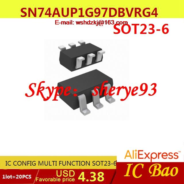 Free Shipping Electronics SN74AUP1G97DBVRG4 IC CONFIG MULTI FUNCTION ...