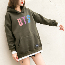 "BTS ""tri"" color hoodies sweater"