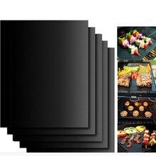 Жаростойкий коврик для барбекю и гриля, медный коврик для выпечки, коврик для барбекю, лист для жарки, портативный, легкий в очистке, коврик для гриля, инструмент для барбекю, заводская цена