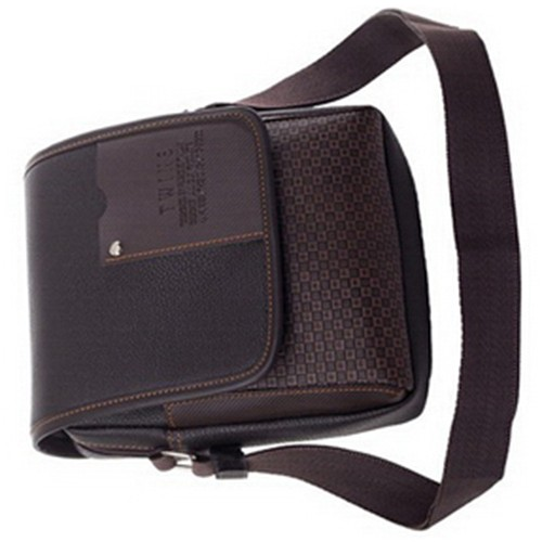 2018 new fashion and good quality Pu Leather Men Messenger Briefcase shoulder cross body handbag business bag casual mens