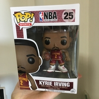 Official Funko Pop NBA Super Star Basketball Player Kyrie Irving Vinyl Action Figure Collectible Model Toy