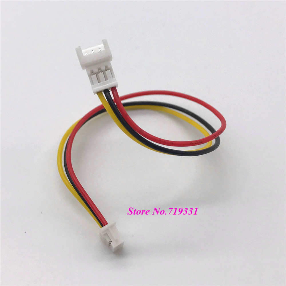 10pcs JST 1.25mm PicoBlade 3-Pin Male to Female Housing Connector Extension wire 100mm 10pcs JST 1.25mm PicoBlade 3-Pin Male to Female Housing Connector Extension wire 100mm