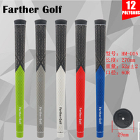 2018 New Golf Grips rubber Cotton Golf Iron Grips 5colors for choice free shipping
