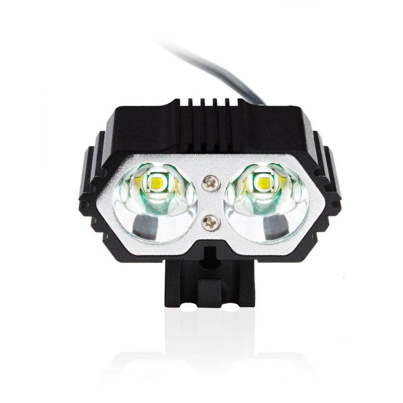 MUQGEW Outdoors Bicycle Equipments 6000LM 2 X CREE