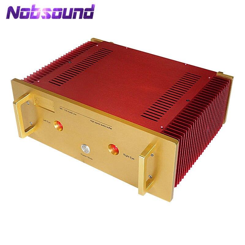Nobsound Hi-End Aluminum Enclosure Power Amplifier Chassis DIY Case_Red ColorNobsound Hi-End Aluminum Enclosure Power Amplifier Chassis DIY Case_Red Color