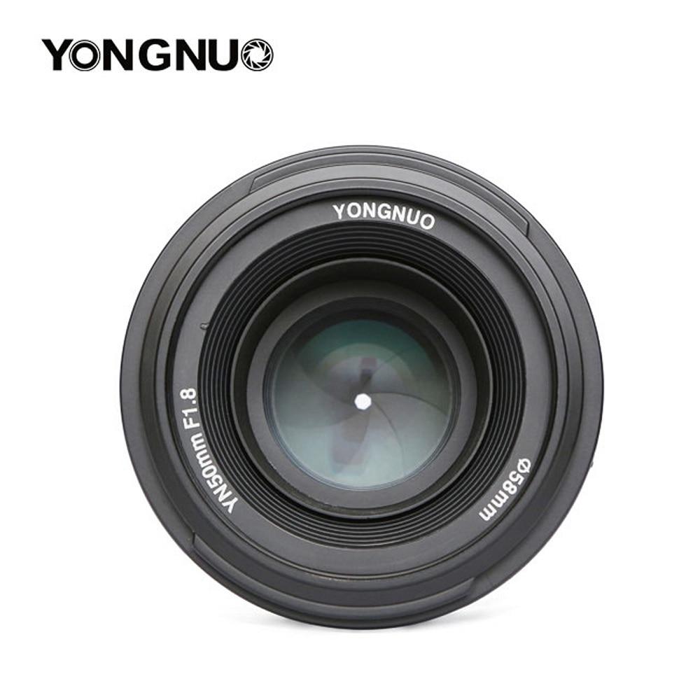 YONGNUO Camera 50mm F1 8 Lens for NIKON Large Aperture Auto Focus Lens NIKON 7000 D5100