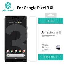 Google ピクセル 3 XL スクリーンプロテクター 6.3 インチのための NILLKIN アメージング H + プロのため 9 H 強化ガラスプロテクターピクセル 3xl ため google pixe