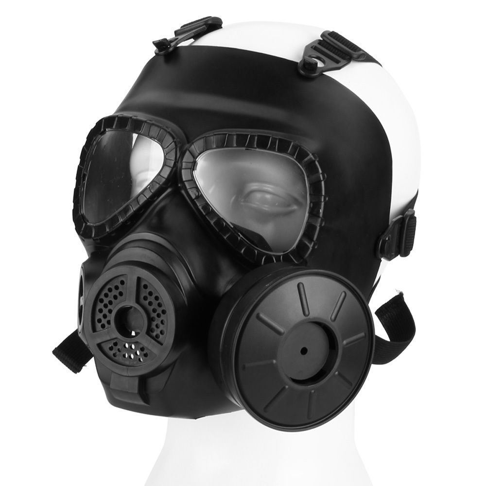 Paintball Tactical Airsoft Game Face Protection Safety Mask Guard Toxic Gas Mask for CS War