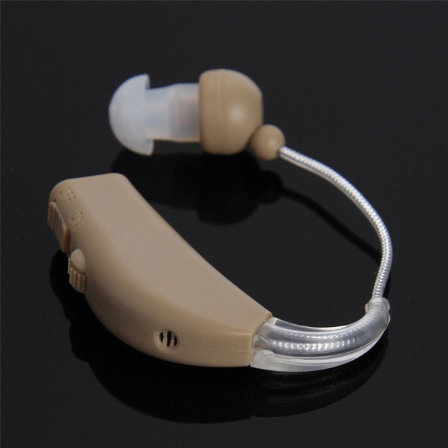 Hearing Aid Rechargeable Sound Voice Amplifier Hearing Aids Mini bte Digital Expand Sound Ear Care for Hearing Loss Elderly