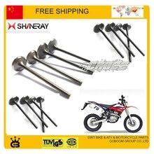 Shineray AX-1 детали двигателя 250cc клапан двигателя Впускной Выпускной клапан сальник мотоцикл X2 X2X xy250gy аксессуары