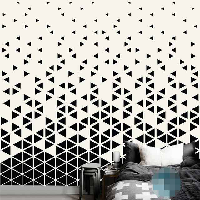 custom any size 3d wall mural wallpapers modern fashion color