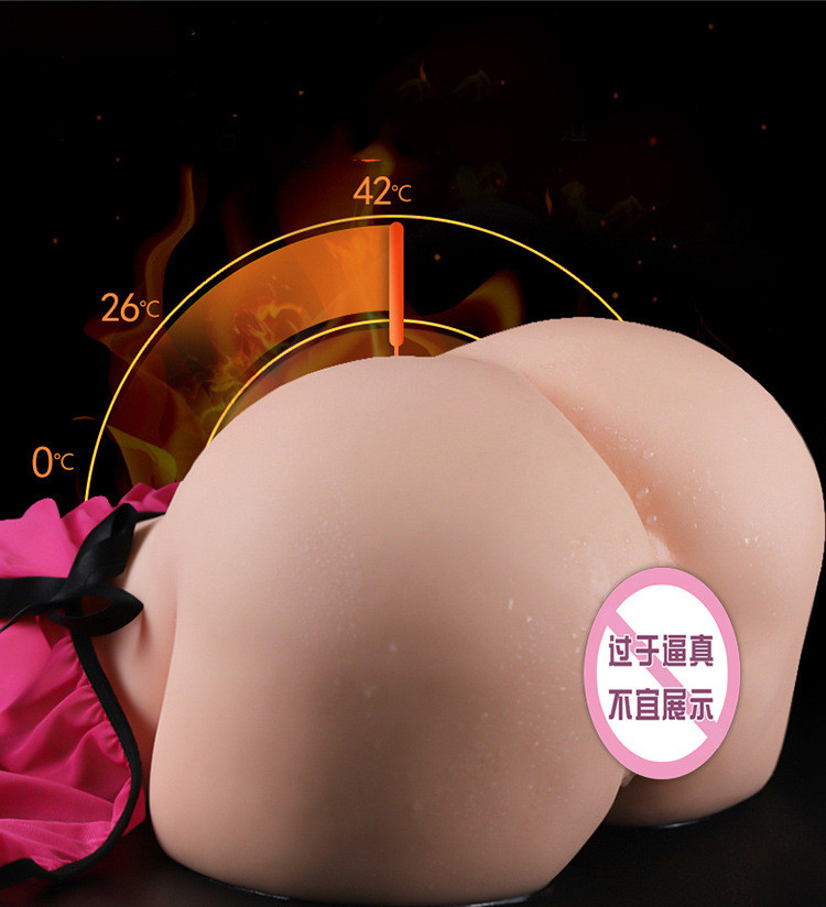 Larger Silicone fake vagina artificial 1:1 Big ass 3D sex doll artificial vagina real pussy Pocket Male masturbator for man toys 11
