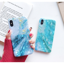 Imd Marble Stone Gel Case for iPhone 7 6s 6 8 Plus Silicon Soft TPU Back Cover X XR XS MAX Cases Squishy Phone