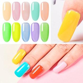 RBAN NAIL Gel Nail Polish Gel Varnish Paint Semi Permanent Nails Art Gel Nail Polish For Manicure Gellak Top Coat Hybrid Primer 4