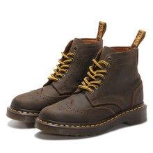 2015 Mode Femmes Martin Bottes Style Britannique Bottes Richelieu Chaussures Oxford Chaussures pour Unisexe En Cuir Véritable Martin Bottes
