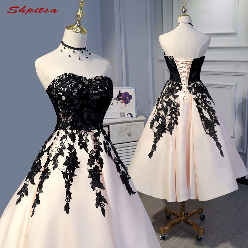Sexy Beautiful Short Lace Cocktail Dresses Womens Prom Coctail Dress for Party Dress jurk vestidos de coctel renda
