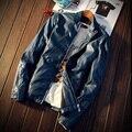 2016 Мужские Кожаные Куртки и Пальто Искусственная Кожа Jaqueta Couro Masculina Куртка Мужская Jaqueta Де Couro мужская твердые Кожа куртка