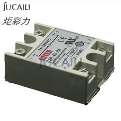 Jucaili good quality large format printer crystaljet solvent printer relay (ssr-10DA/25DA/30DA/40DA)