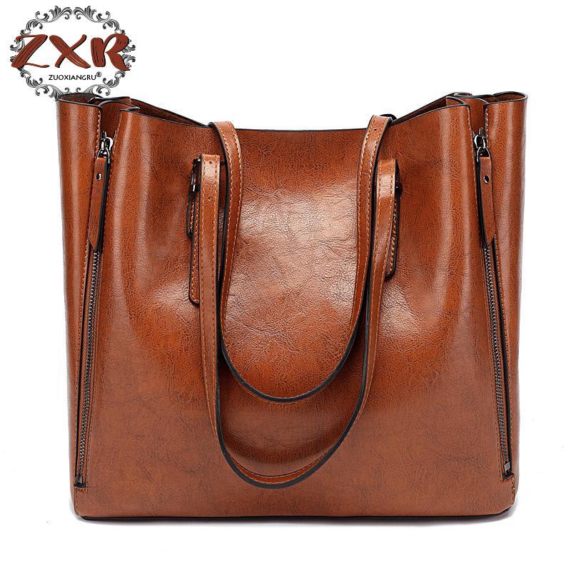 De luxe Femmes de Sac À Main Designer sacs de postier Grand Shopper Totes Incliné Sac à bandoulière Sac à Main Dames Sac en cuir souple