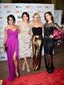 Vanessa Hudgens fúcsia Chiffon até o chão Long Summer Celebrity Dress evento mulheres vestido frete grátis