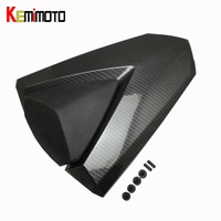 KEMiMOTO For Yamaha Model 2014 2015 YZF R25 R3 Rear Passenger Seat Cowl Cover Carbon Look