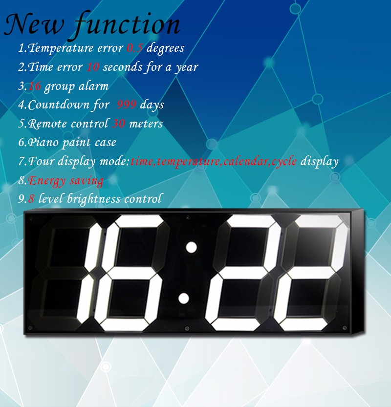 buy 59 inch jumbo digital led wall clock for school home decor train station from reliable digital led wall clock suppliers on shenzhen