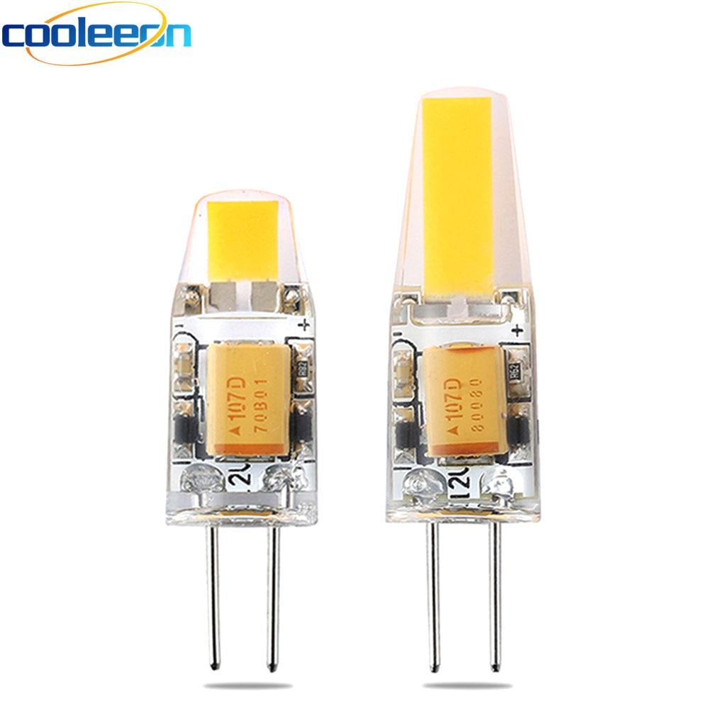 Light Bulbs 10pcs/lot Ac/dc 12v G4 Led Light 3w 6w Cob Bulb For Replacing Halogen Lights Diy Indoor Lighting Warm Cold White G4 Led Cob Lamp Clear-Cut Texture