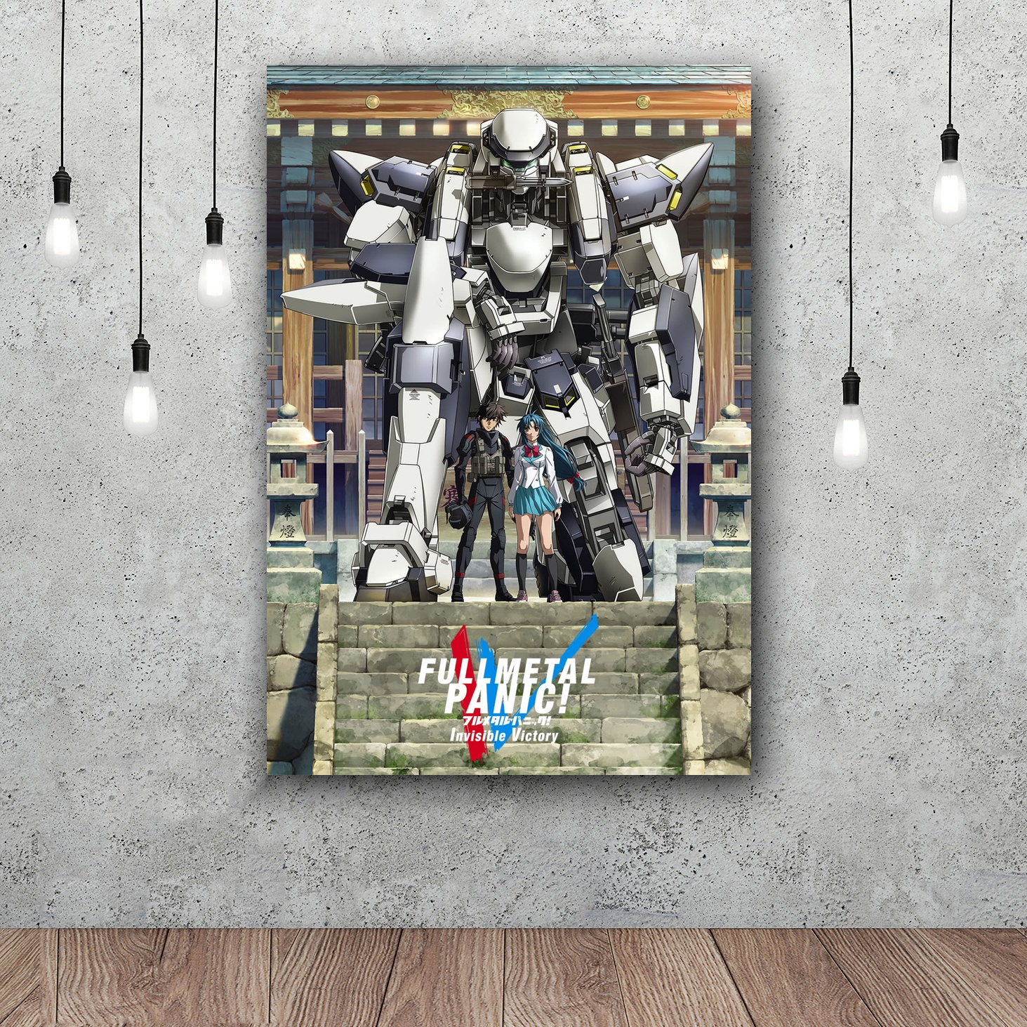 Full Metal Panic! Invisible Victory Art Silk Poster Home Decor 12x18 24x36inch