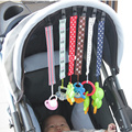 Retail Nuevo Bebé Chupete Cadena Clip Anti-perdido Cadena Chupete Chupete de Bebé Chupete Clip de Cinturón de seguridad de Alimentación Infantil Azar Color
