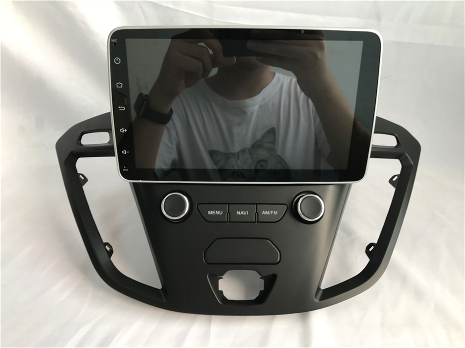 """Perfect 2Din 9""""Android 9.0 Car DVD Radio Player Fit Ford Transit Custom Tourneo 2013 - 2018 GPS Navigation 8Core 4G+364G WIFi Multimedia 17"""