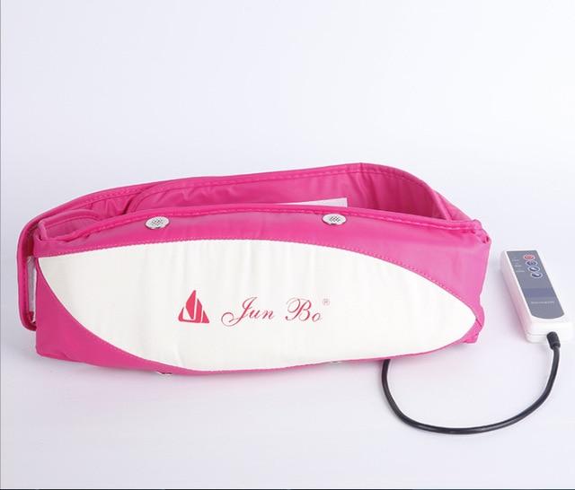 ec4ba21112a Ceinture de massage Vibrations Puissance Plaque Abdominale Massage Sportif  Taille Ceinture Électrique Minceur Ceintures