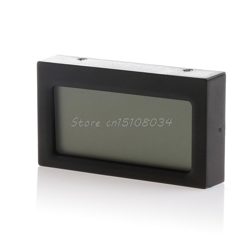 Digitális LCD hőmérő páratartalom hőmérsékleti higrométer - Mérőműszerek - Fénykép 2