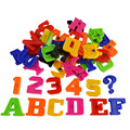 52 unids BOHS Inglés Carta Nevera Imán Números Arábigos Números Refrigerador Congelador Matemáticas Juguete de Aprendizaje Temprano Juguete Mensaje