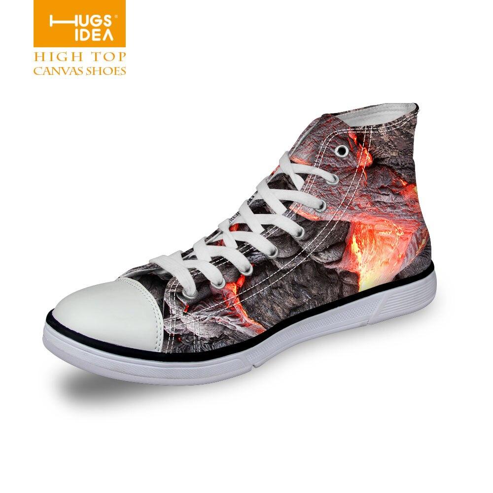 Fourrure Graffiti Chaussures De Peinture Colorée pPih4