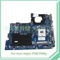 Mb. ph802.001 mbph802001 principal board para acer aspire 5940g la-5511p laptop motherboard 15.6 ''core i7 apenas ati hd 4650 100% testado