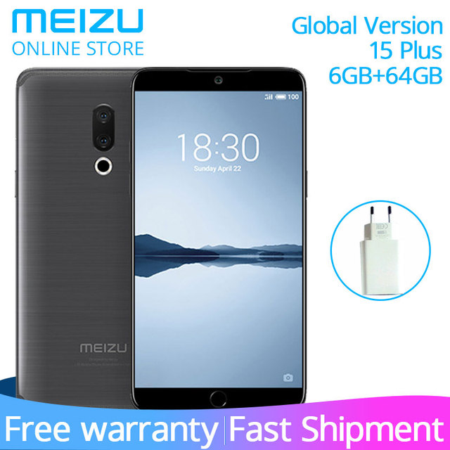 US $318 74 |In Stock Original Meizu 15 Plus 6GB 64GB Global Version Cell  Phone Exynos 8895 Octa Core 5 95