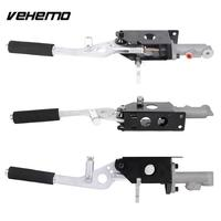 Vehemo Universal E Brake Hydraulic Racing Handbrake Kit Tool Vertical Horizontal Lever S14 AE86 Black Useful Durable New