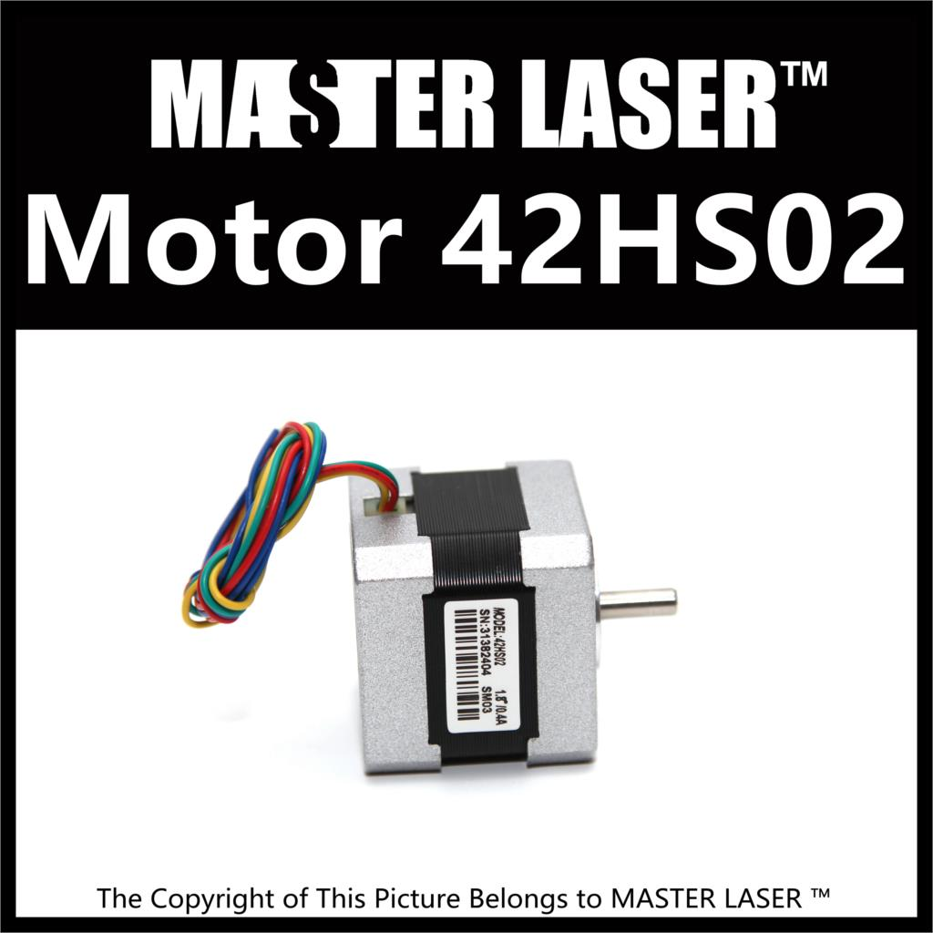 CO2 Laser Cutting Machine Step Motor 42HS02 2 Phase Stepper Motors laser cutting machine 57 stepper motor with copper gear