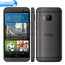 Original Unlocked HTC One M9 Mobile Phone Marshmallow Snapdragon 810 Octa Core 3G RAM 32GB ROM 4G LTE 5.0' Inch 20MP Smartphone