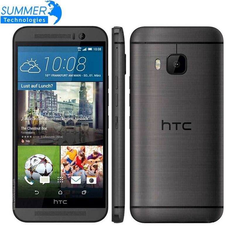 """Цена за Оригинальный разблокирована htc one m9 мобильный телефон snapdragon 810 octa зефир Core 3 Г RAM 32 ГБ ROM 4 Г LTE 5.0 """"Дюйма 20MP Смартфон"""