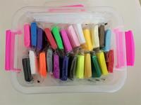 24 צבעים/סט 500 גרם פימו חימר פולימרים עם כלים תיבת חינוך מוקדם brinquedo fashional פימו חימר מתנה הטובה ביותר לילדים