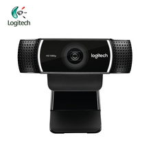 Logitech C922 HD 1080p WebCam Full 720P with Built in Microphone Video Call Recording Support Official Inspection