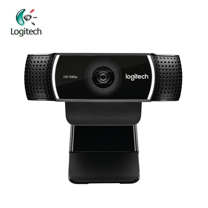 Logitech C922 HD 1080 p WebCam Full HD 1080 p avec Construit en Microphone Appel Vidéo Support D'enregistrement Officiel D'inspection