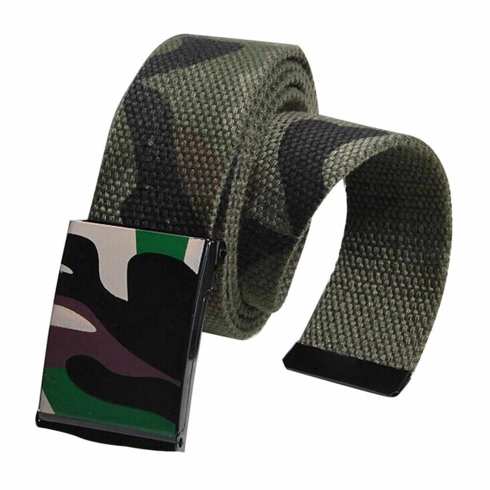 الجملة الرجال النساء التلقائي ساحة الإبزيم أحزمة أحزمة الخصر حزام الرياضية قماش جودة عالية للجنسين هدية #0212