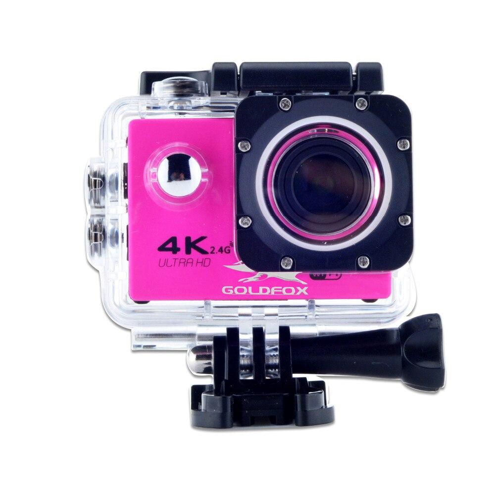 GOLDFOX F60/F60R Ultra HD 4K WiFi 1080P Action kamera DV Sport 2,0 LCD 170D objektiv gehen wasserdicht pro Hero Stil Fahrrad Helm Cam