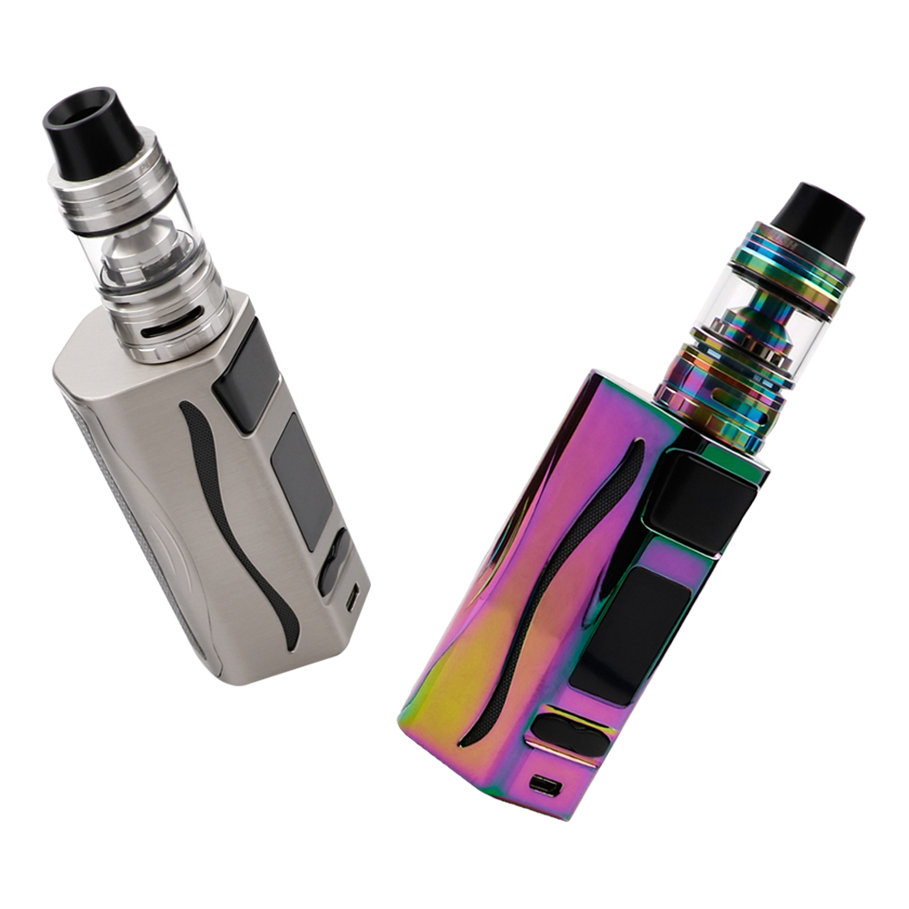 Original IJOY Genie PD270 TC Kit with 4ml Captain S Subohm Tank Atomizer & Ijoy Genie PD270 MOD E Cig Kit original ijoy captain pd270 box mod e cigarette vape 234w ni ti ss tc vapor power by dual 20700 battery new colors