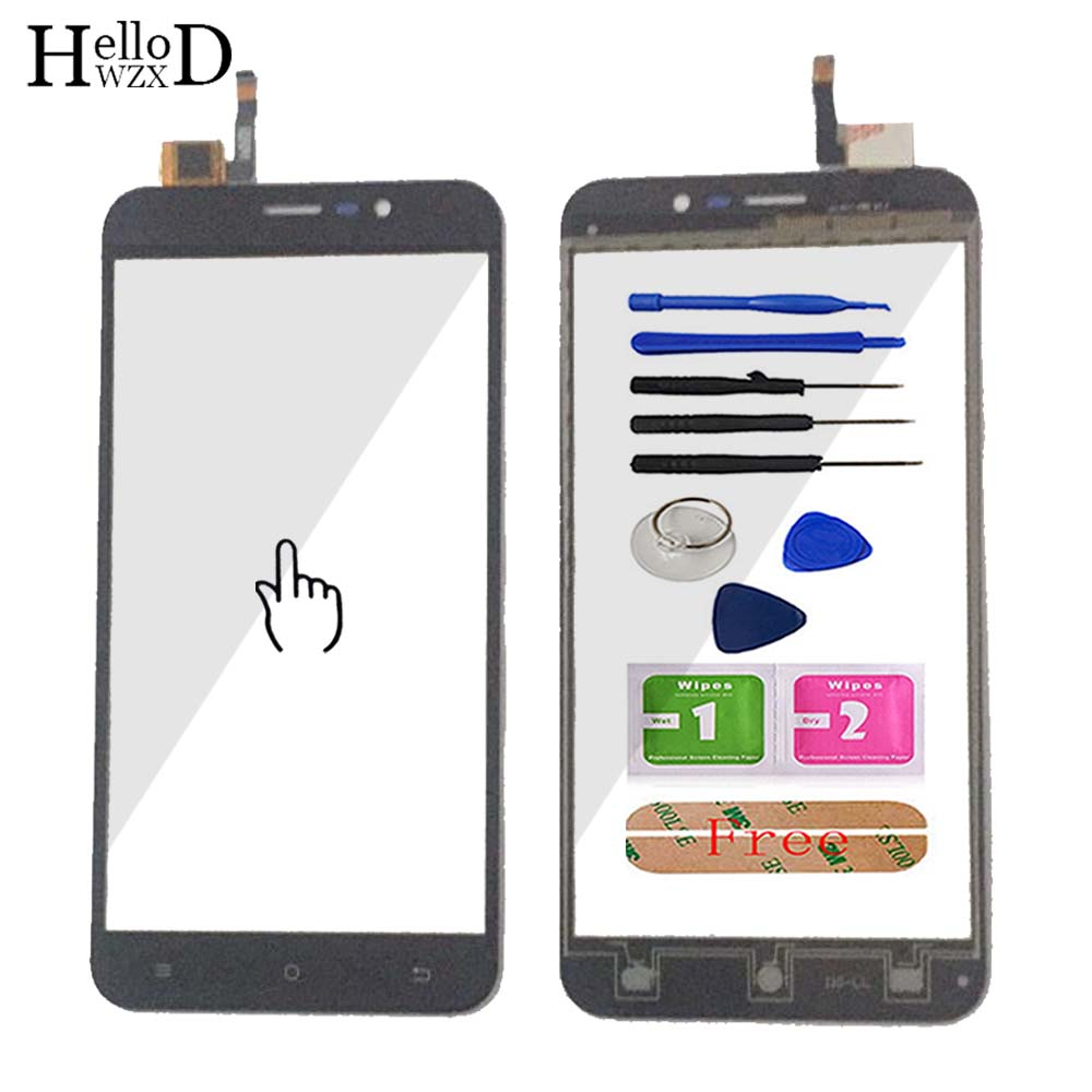 Touch Screen Panel For Cubot Note S Front Touch Screen Glass Digitizer Panel Touchscreen Lens Sensor 5.5'' Mobile Phone Tools