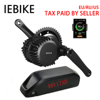 Bafang Bbshd 48V 1000W Electric Motor Bicycle Engine Kit with 48V 17AH Battery All for Bicycles Bafang Motor Electric Bike Kit