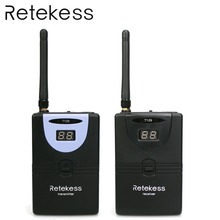 цены RETEKESS T129 Wireless Tour Guide System Audio Microphone Assistive Listening System For Conference Church Language Translation